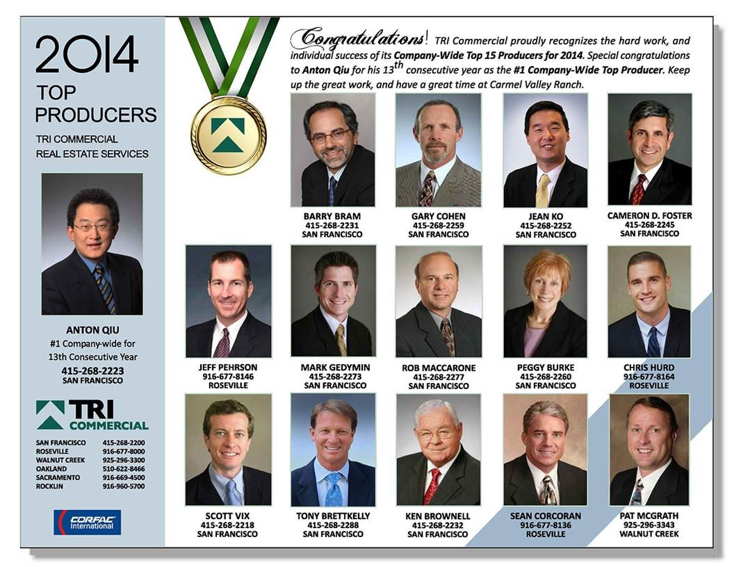 tri top producers  2014